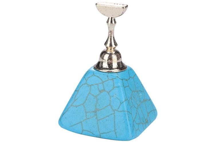 DM- Tip holder 5 pcs with Turquoise pyramid foot