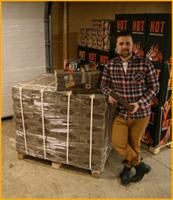 HOT-Brikettiklapi eurolava 960kg (Hinnat sisältävät rahdin)