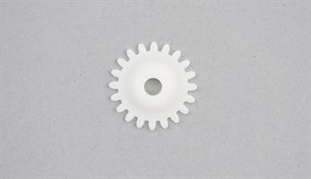 Tannet plasthjul 4,5 mm