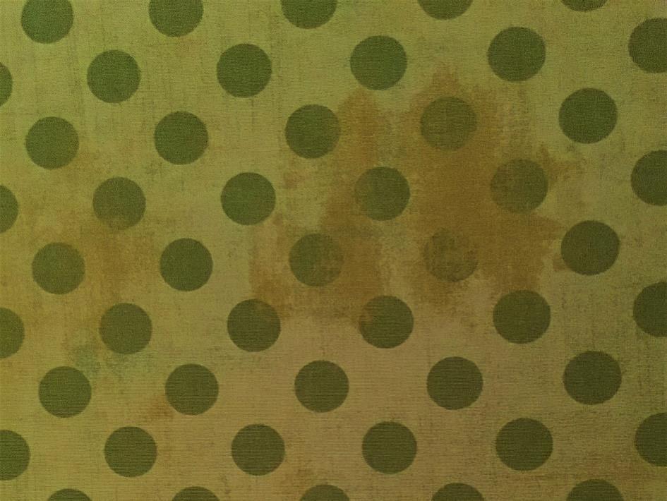 Lys grønn m/ prikker