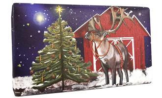 Festive Wrapped Soap Reindeer  200gr