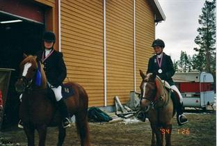 Trine og Trollvik Mikko, bronse HM 2002