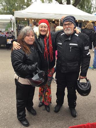 Hälsinge Marknad, Hudiksvall, besökare från Färila