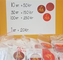 Klistermärken ACA 100 pack