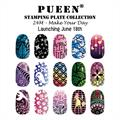 PUEEN- Stamping Plates 24M, Make Your Day
