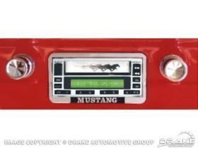 1967-73 RADIO CHROME FACE 64 WATT