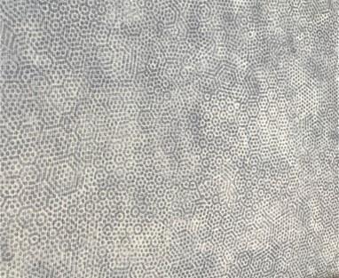 Lys grå m/ prikker