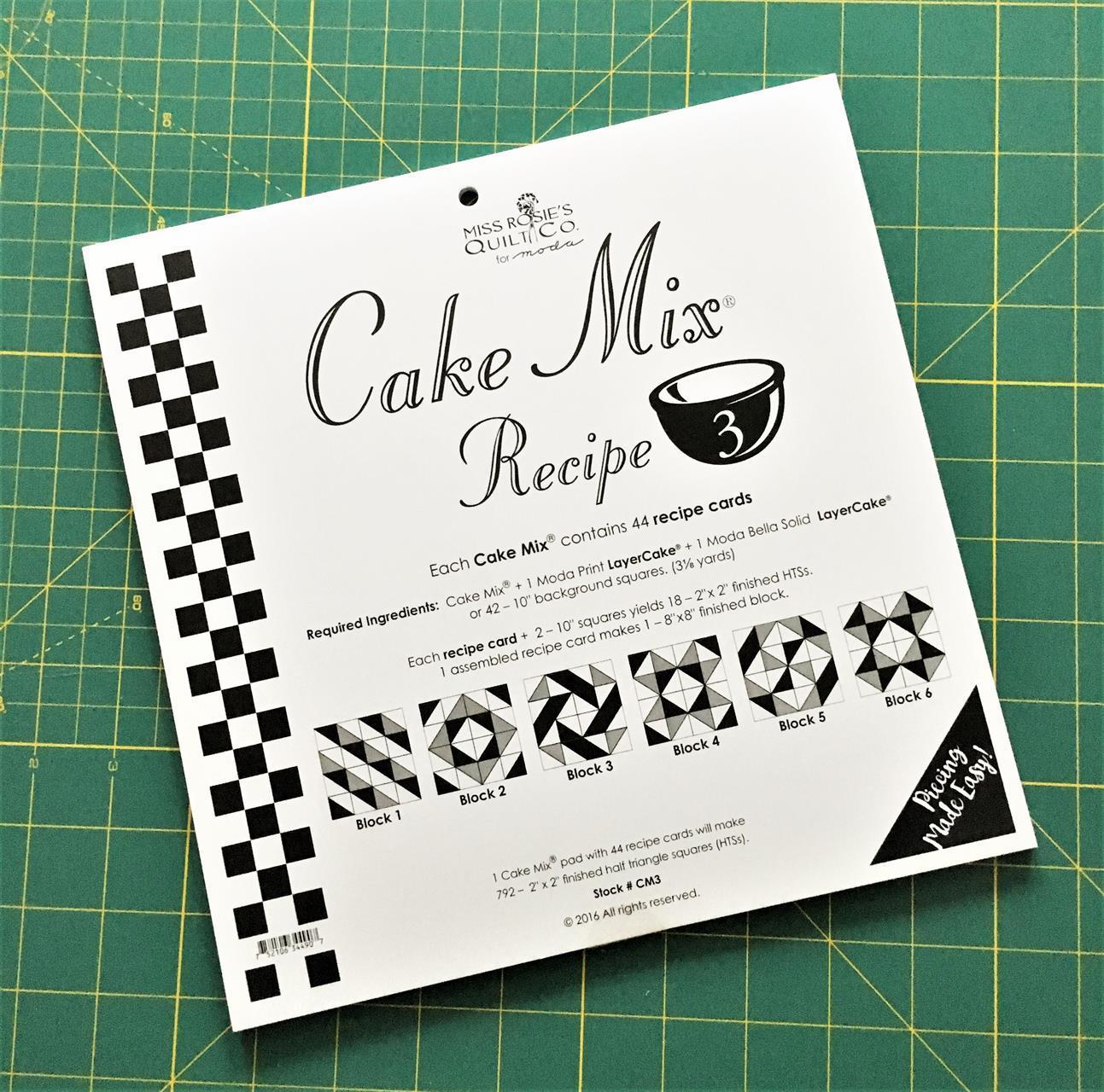 Cake Mix Recipe nr. 3