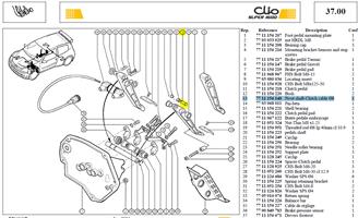 AXE ARTICULATI - Pivot shaft-Clutch cable Ø8