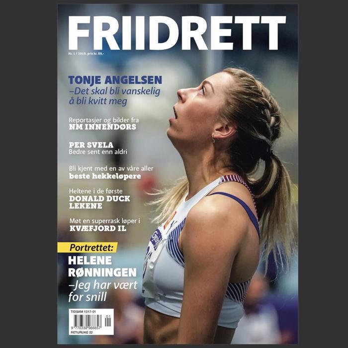 Magasinet Friidrett - utgave 1/2019