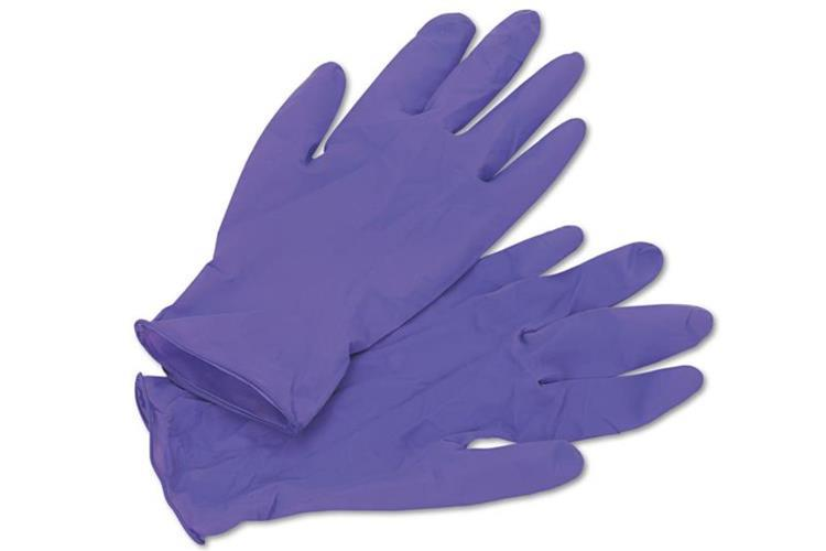 KN- Nitrile glove PURPLE Large