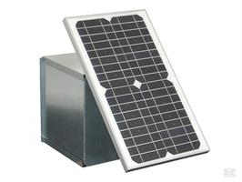 Solpanel 25W till 12v batteri