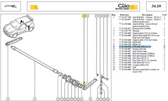 VIS CHC 8X30 CL:12-9 - CHS Bolt M8x125-30
