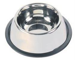 Hundeskål, stål 0,9 liter non-tip Spaniel