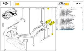 RACCORD REMPLISS CARB DASH 12 - Refuel coupling