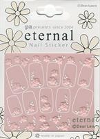 DL- Sticker Flower pink