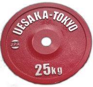 UESAKA IPF skive 25kg Rød