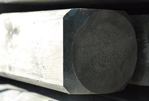 Furustolpe 7,5x7,5x175cm Hyvlad