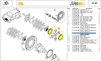 J 2 PLATEAUX  40/90° ET 45/90° - Pair of differential ramps (40°/90°-45°/90°)