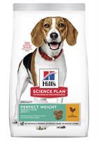 Hills Hund Adult Perfect Weight Medium Chicken 2kg
