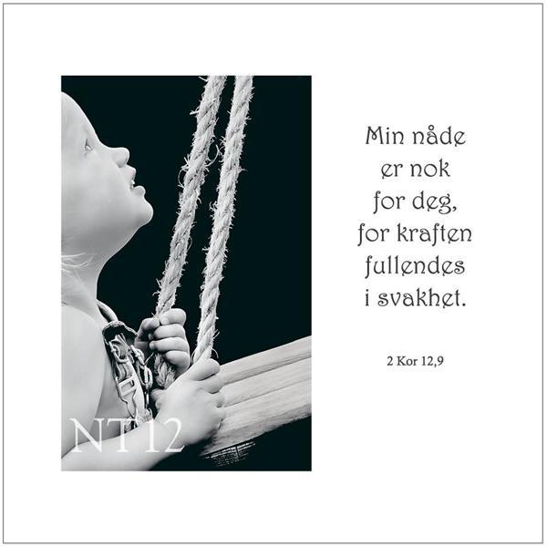 Postkort 2 Kor 12,9