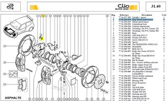 BOUCHON CAPTEU VITESSE ROUE - Plug-Wheel speed sensor