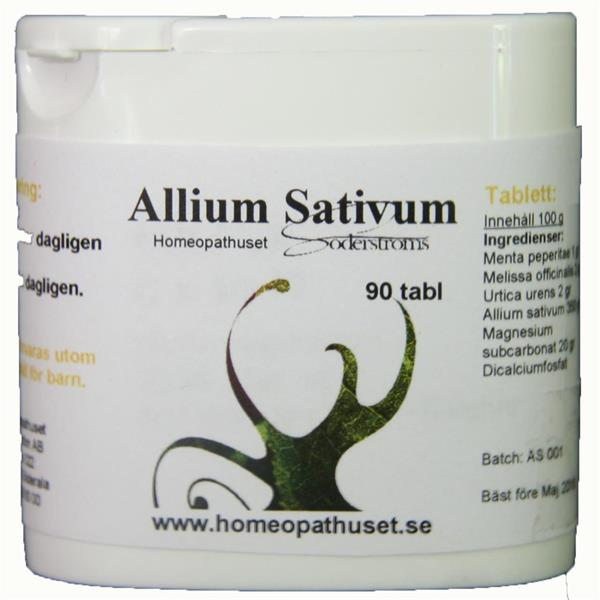Allium Sativum Tablett 90st