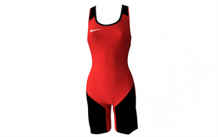 Nike Weightlifting Suit Ladies Rød