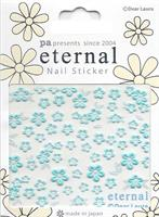DL- Sticker Flower blue