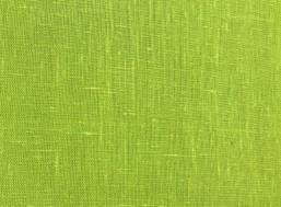 Farget lin, lys grønn