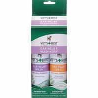Vets Best Öron- & Torkset 2*118ml