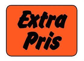 Etikett Extra Pris 30x20mm