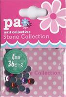 DL- Stone Red pink purple 4mm