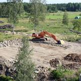 Augusti 2012 börjar allt markarbete