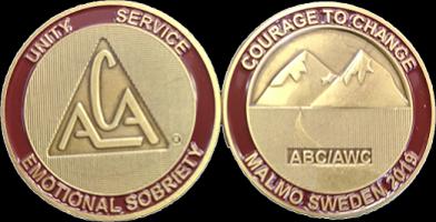 AWC medalj från Sverige 2019