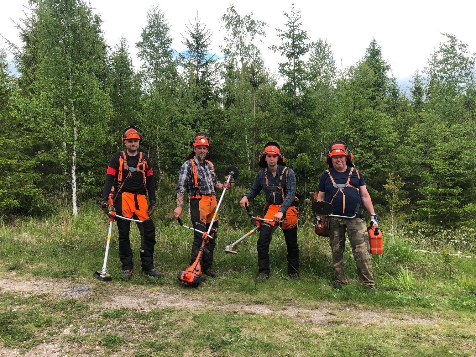 Hej hej, hälsningar från Fredrik, Magnus, Mikael, Björn & Jonas (ej med på bild)
