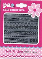 DL- PA Sticker Black Lace