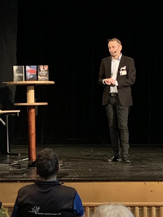Föreläsning från stora scenen: Micael Lindberg
