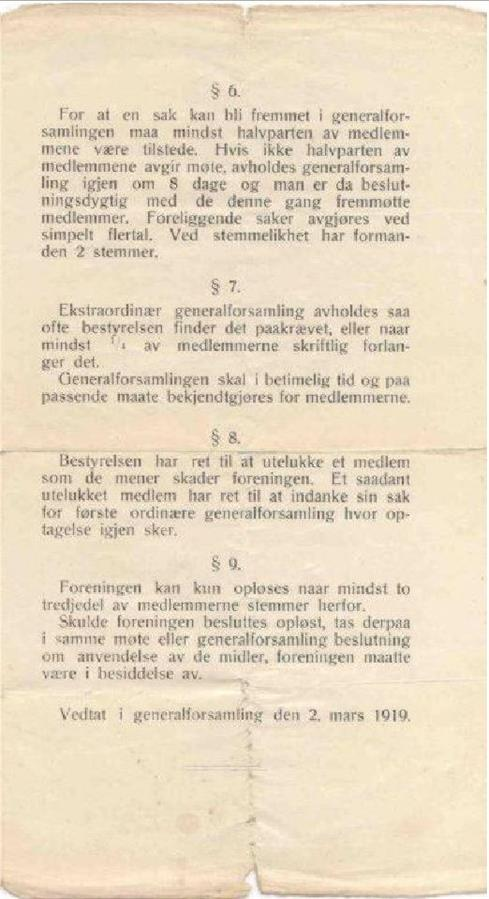 "De første ""love"" anno 1919 (s.3)"
