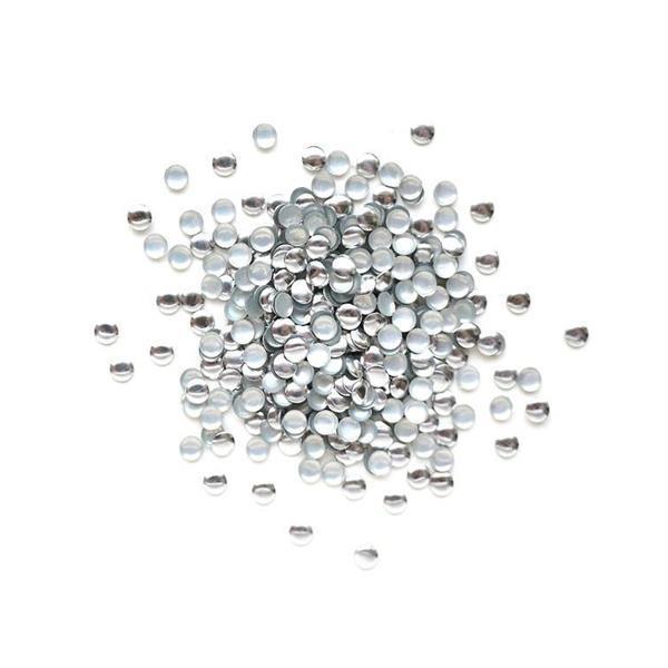 KN- STUDS Round Silver 2mm