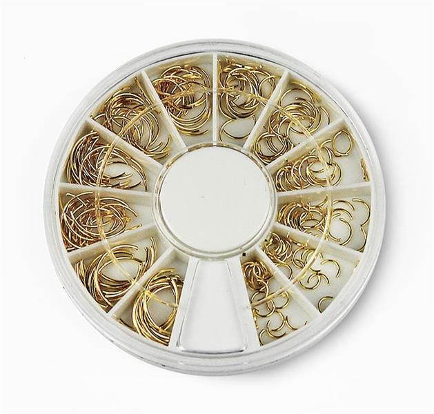 BL- Wheel Gold Art Deco