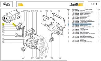 Vis Chcm10l20 Cl:12-9 Pas 150 - CHS Bolt M10x150-20