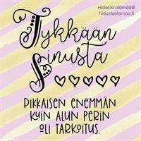 Tykkään sinusta