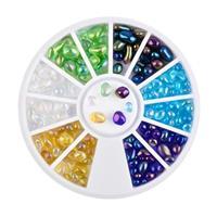 KN- WHEEL Rainbow Stones