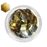 KN- Studs Hexagram GOLD