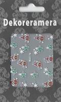 DM- Sticker BLE178/Pepparkaks / Christmas