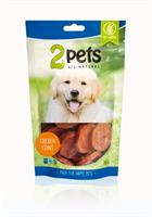 2pets Dogsnack Chicken Coins 100g