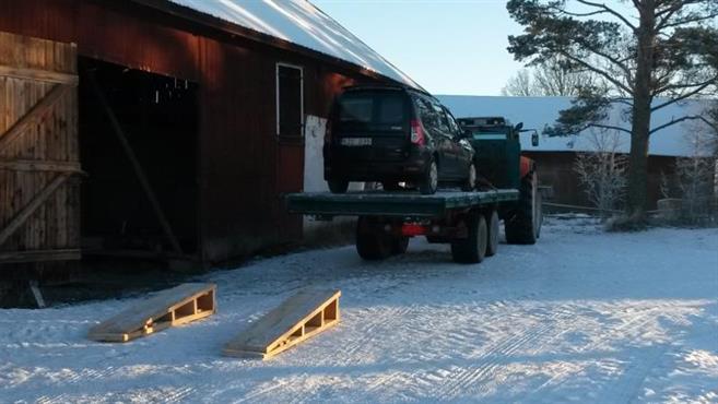 transport av bil