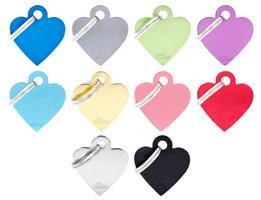 MyFa Basic Hjärta litet blå