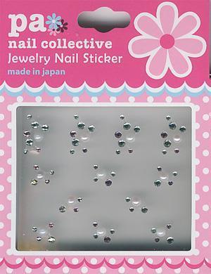 DL- Sticker rhinestone pearl